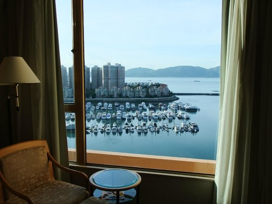 Hong Kong Gold Coast Hotel: View from room.