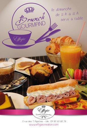 Effigie Créateur de Gourmandises : BRUNCH GOURMAND