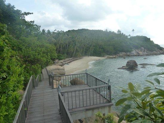 Silavadee Pool Spa Resort : Silavadee Private Beach