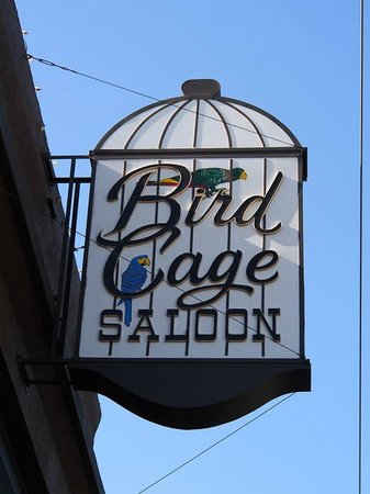 Downtown Historic Area : The Bird Cage Saloon