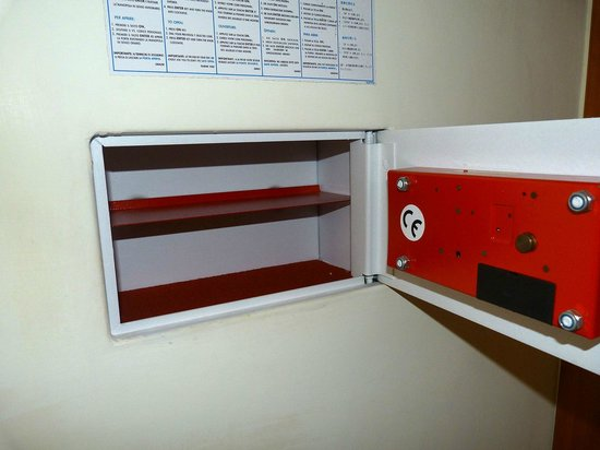 Hotel Domus Praetoria: Caja de seguridad