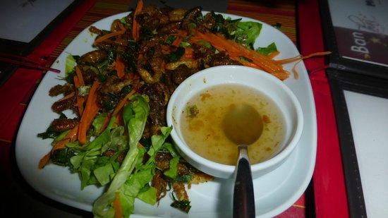 Ban Thai: Assiette dégustation d'insectes