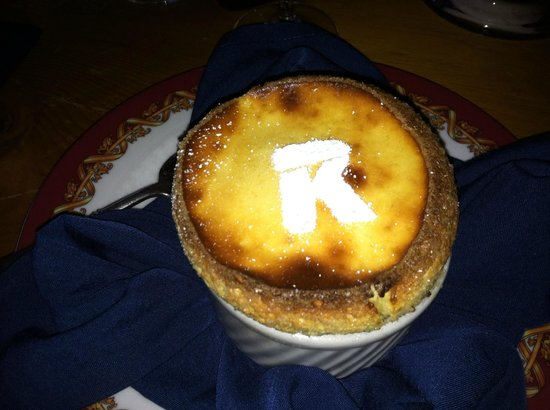 Keystone Ranch Restaurant: Grand Marnier Souffle at Keystone Ranch