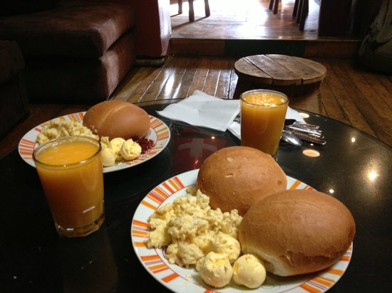 Kokopelli Hostel Cusco: El desayuno