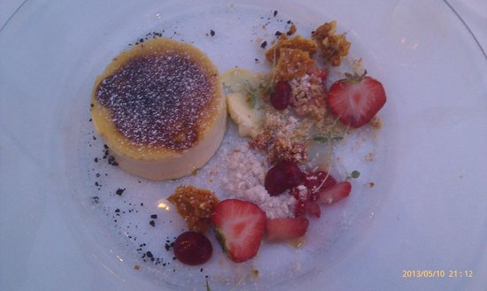 The Dining Room : Best crème brulee of your life