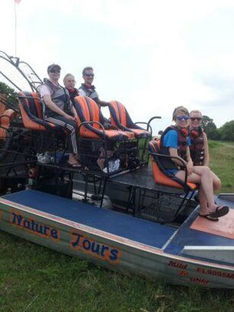 Alligator's Unlimited  Airboat Nature Tours: Fun family day!