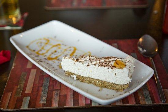 Griffin Inn Pub: Orange and cinnamon cheesecake