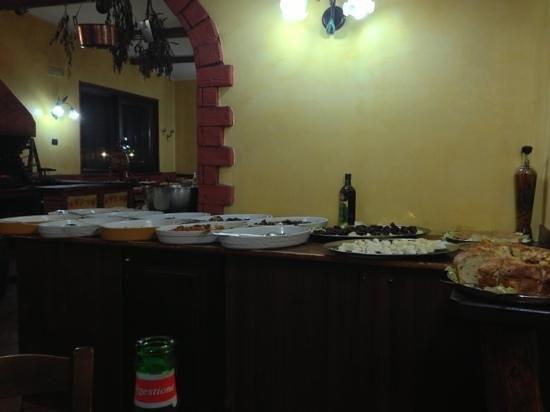 Marigliano, Italy: Buffet
