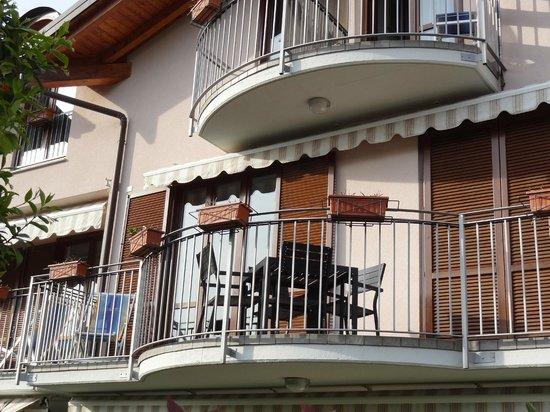 Residence Domaso - Resort & SPA: Balcon de notre chambre