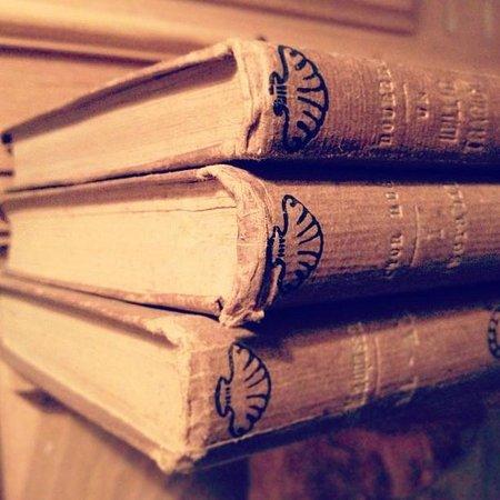 Relais Le Due Matote : Books in bedroom