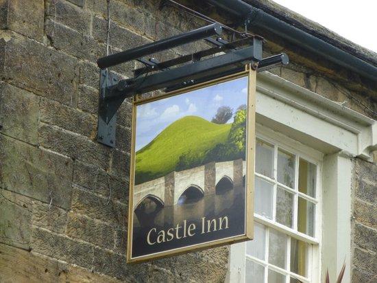 Castle Inn Bakewell: Signage