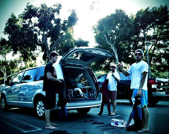 Dana Point, Καλιφόρνια: Well trained Surfguides.
