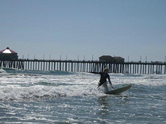 Dana Point, Californië: Huntington Beach Surfcity.