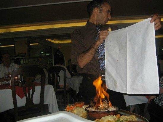 El Cedro: wonderful food and service