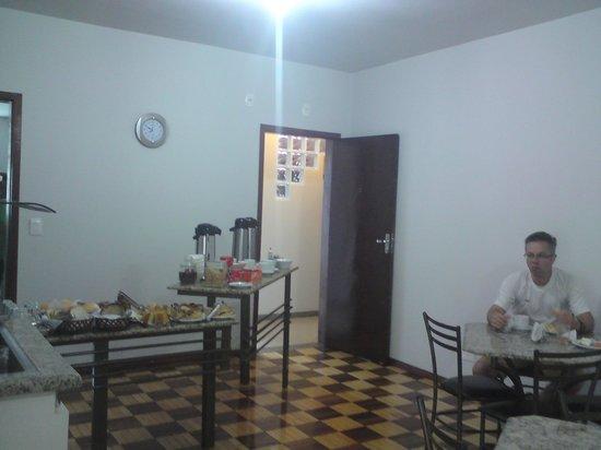 Iguassu Central Bed & Breakfast: the breakfast room