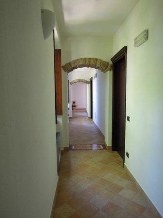 Hotel dei Templi: i caratteristici corridoi