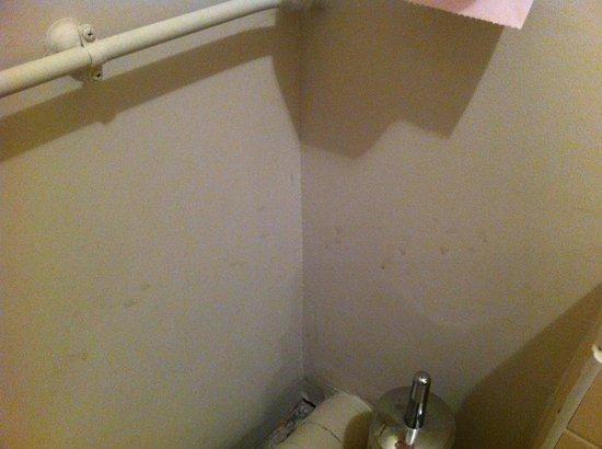 Quality Hotel du Golf Montpellier Juvignac : traces murs salle de bain