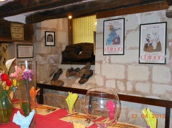 Le Musee anime du Vin et de la Tonnellerie : La salle du resto