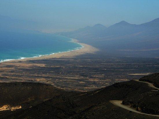 Playa de Cofete: Desde el mirador