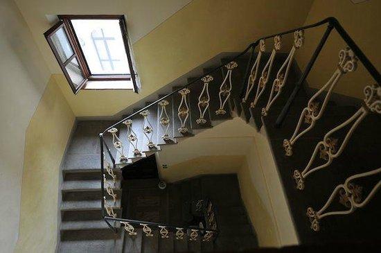 Villa Schiatti: Staircase