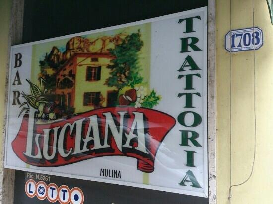 Trattoria Luciana: un nome una garanzia!