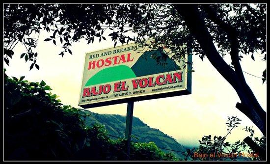 Hostal Residencial Bajo El Volcan : Bajo el Volcán Hostal Ecuador