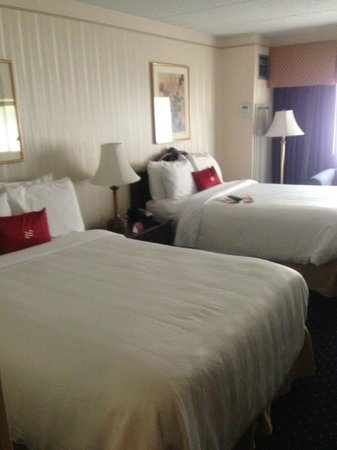 Crowne Plaza Hotel Nashua: Two Double Beds