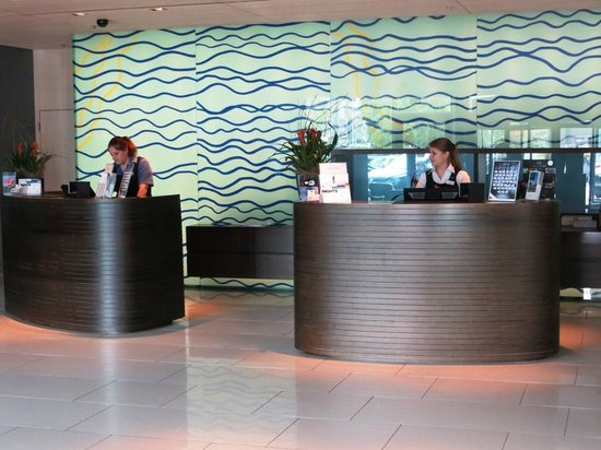 Radisson Blu Hotel, Lucerne: Reception