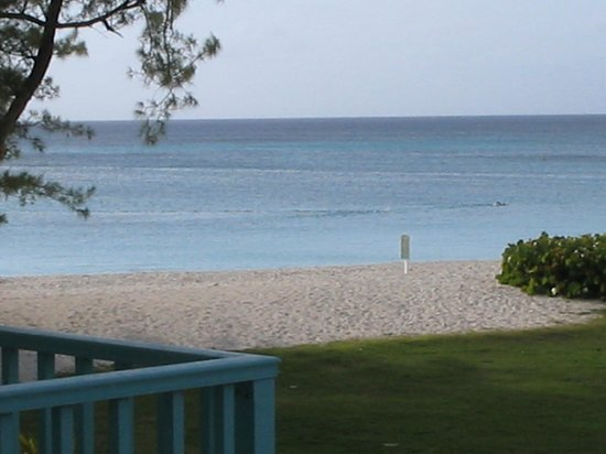 The Westin Grand Cayman Seven Mile Beach Resort & Spa: View from a room on the end of the hotel.