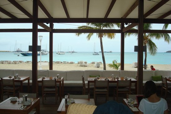 Holland House Beach Hotel: Restaurant