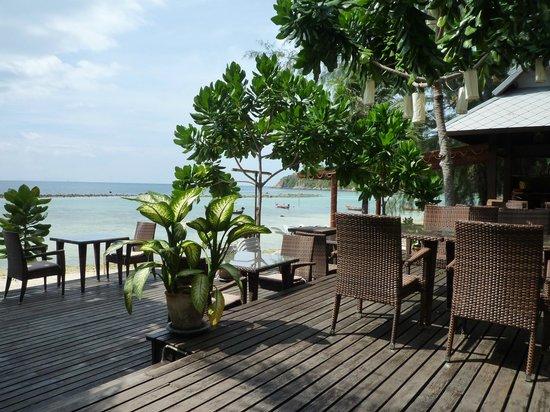 Salad Buri Resort & Spa: Depuis la terrasse du restaurant