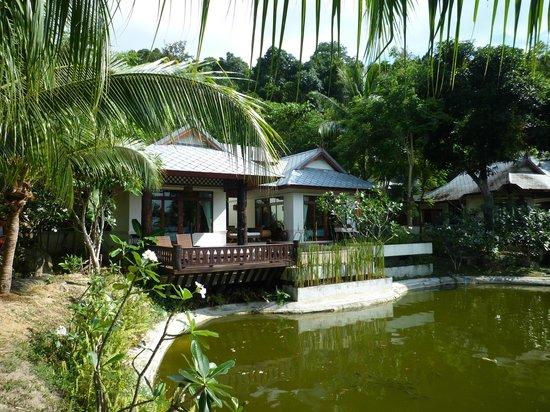 Salad Buri Resort & Spa: Le bungalow n°1