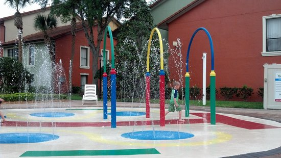 Legacy Vacation Resorts: the splash pad