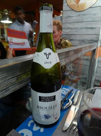 FISH and Fish by La Criee: Georges Duboeuf Brouilly