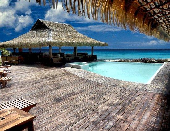 Aqua Restaurant: pool deck