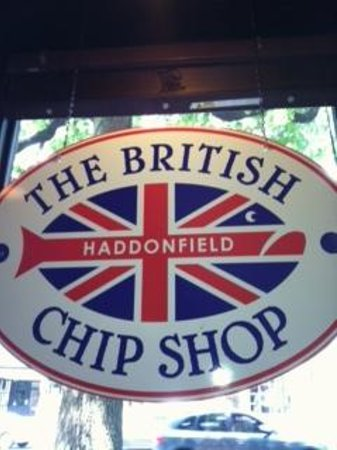 British chip shop haddonfield menu prices restaurant for Two fish haddonfield menu