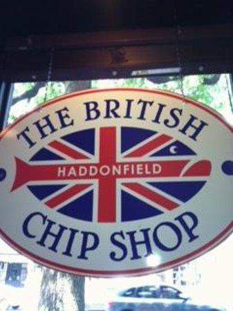 British Chip Shop: Signage