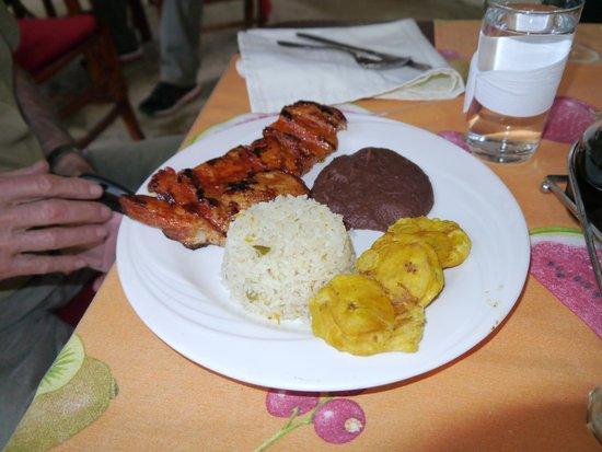 Hotel Bosque Las Nubes : Food was tasty!
