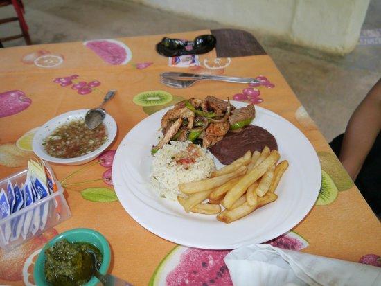 Hotel Bosque Las Nubes : Tasty food!