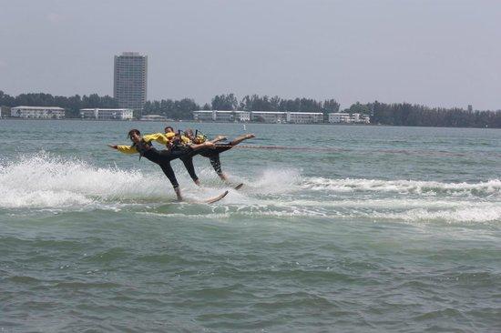 Sarasota Ski-A-Rees Water Ski Show : Ski-a-Rees