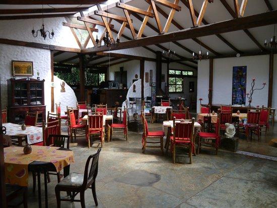 Hotel Bosque Las Nubes : Dining area
