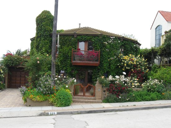 Another Side Of San Diego Tours : The Round Rose House-La Jolla