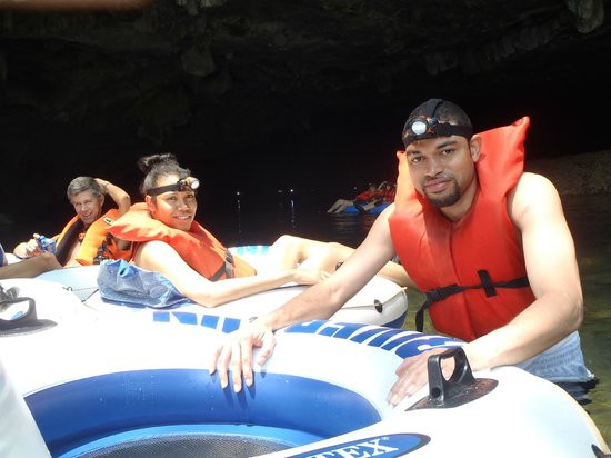 Cave Tubing R Us: Orlan and Sheena
