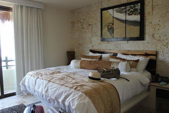 El Taj Oceanfront & Beachside Condos Hotel: habitación principal penthouse