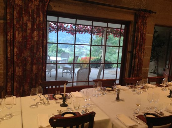 Capers Guest House: View from the dining room