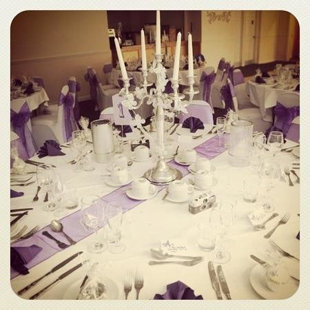 Durker Roods Hotel Wedding Decor Centre Piece