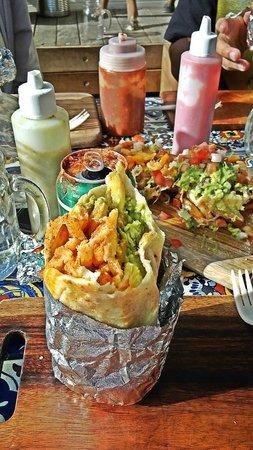 Chica Bonita Manly: California Burrito + Carne Asada Fries