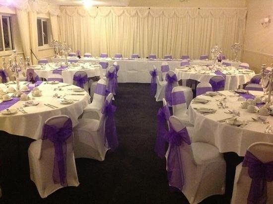 Durker Roods Hotel Wedding Reception Room