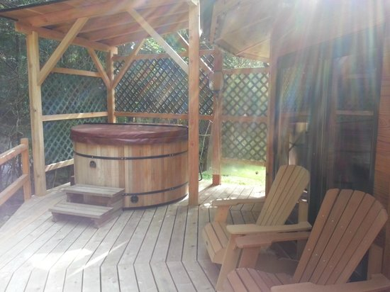 Stormking Spa at Mt. Rainier: Hot tub