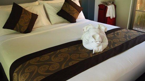 Sun Island Boutique Villas & Spa: Bed
